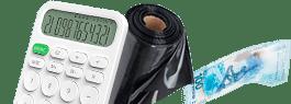 Калькулятор расчета стоимости пленки для прудов и водоемов